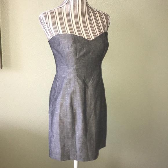 bebe Dresses & Skirts - 1 hr SALE Bebe strapless silk dress